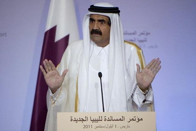 Quốc vương Sheikh Hamad bin Khalifa Al-Thani, lãnh đạo Qatar 1995-2013.