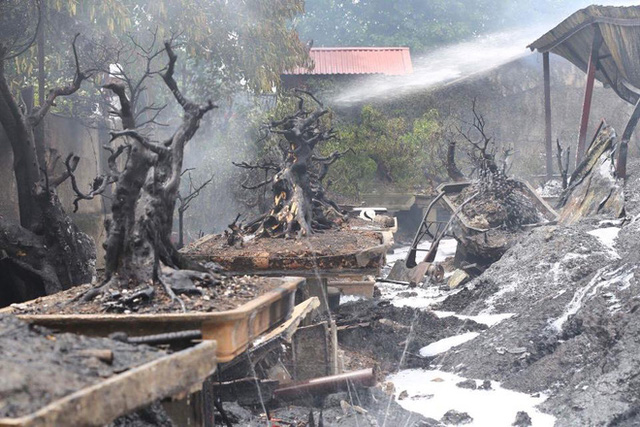 Nhiều tài sản bị thiêu rụi sau vụ cháy