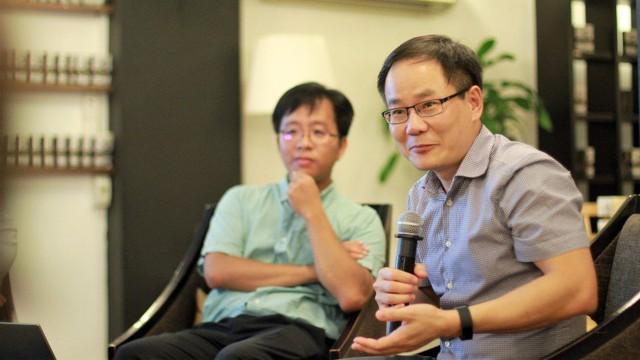 TS Nguyễn Ngọc Anh trình bày những khó khăn trong việc thu thập số liệu