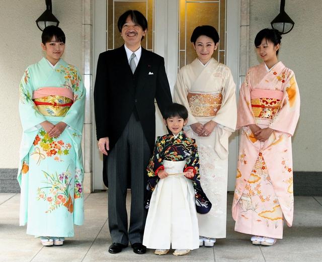 Một số thành viên trong hoàng tộc Nhật Bản. (Nguồn: unofficialroyalty.com)