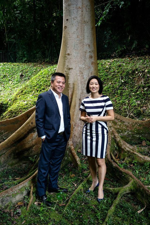 Ông Chen và bà vợ Chrissy