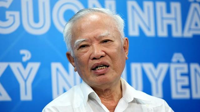 Nguyên Phó Thủ tướng Vũ Khoan (ảnh: Lê Anh Dũng)