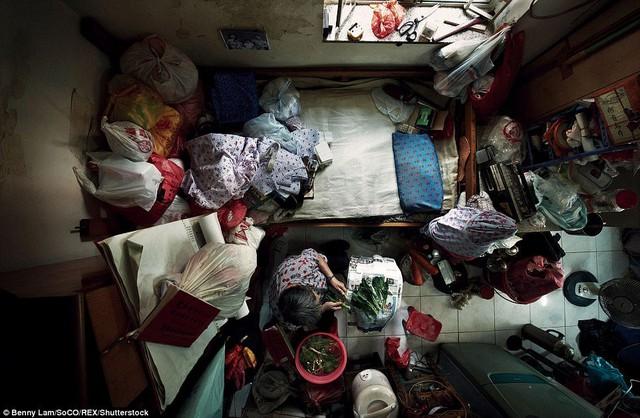 Có khoảng 200,000 người đang sống trong những ngôi nhà như thế này.