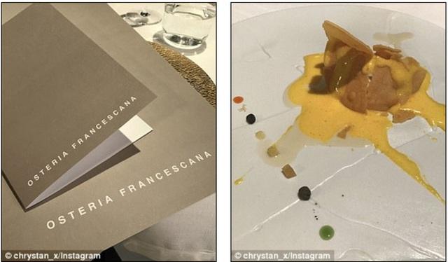 Cặp đôi ghé đến nhà hàng được mệnh danh tuyệt vời nhất thế giới để thưởng thức những món ăn nổi tiếng.