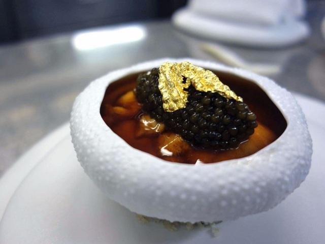Nhà hàng Amber tại The Landmark Mandarin Oriental