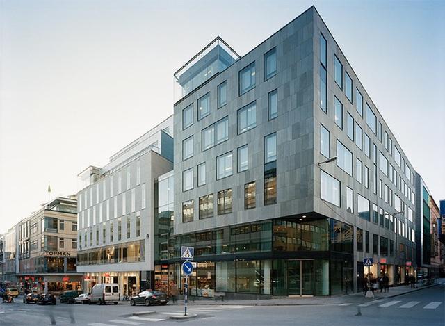 Tòa nhà trụ sở H&M tại Stockholm, Thụy Điển.