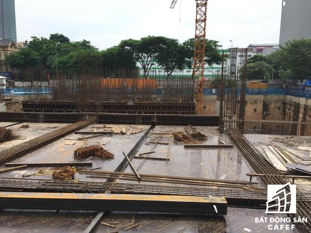 Với tiến độ thế này không biết đến khi nào dự án mới có thể hoàn thiện.