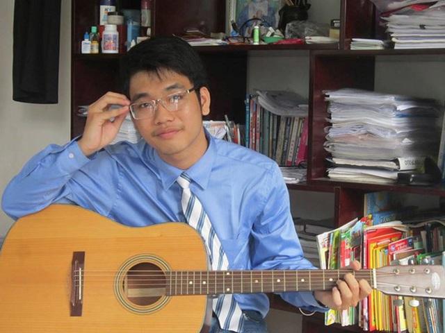 9x có sở thích chơi guitar và rubik