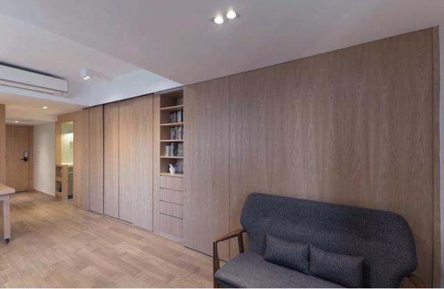 Nếu mới bước chân vào ngôi nhà này mọi người sẽ khó có thể hình dung được cách bố trí phòng ngủ và các không gian chức năng khác như thế nào.