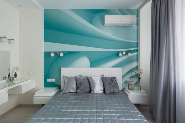 Và không gian lý tưởng nhất, yên tĩnh nhất phải kể đến đó là phòng ngủ.