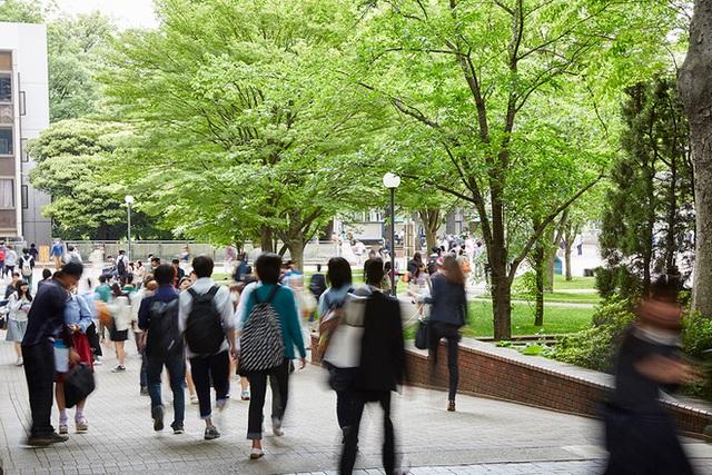 Những hình ảnh hiếm hoi về hoạt động của trường Gakushuin.