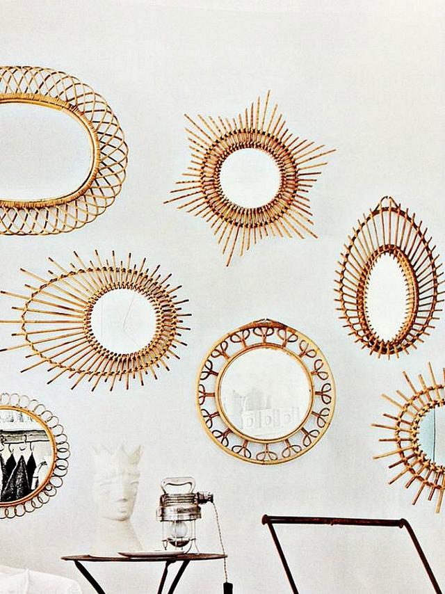 Sản phẩm mây tre đan còn được dùng để tạo nên những sảm phẩn trang trí bắt mắt.