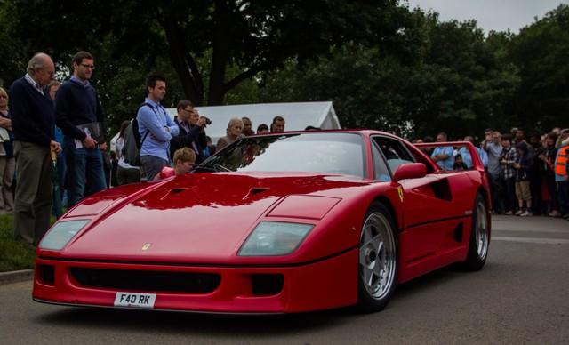 F40, chiếc xe cuối cùng được Enzo phê duyệt