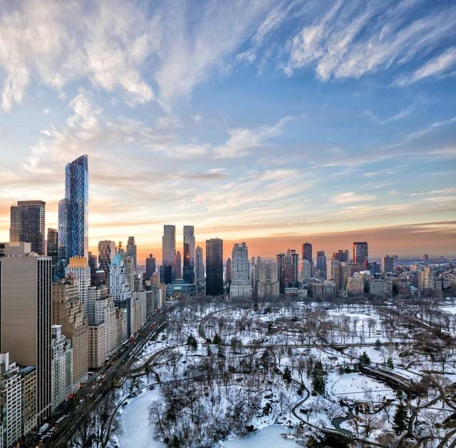 Từ căn hộ này bạn có thể ngắm nhìn toàn cảnh công viên nổi tiếng Central Park.