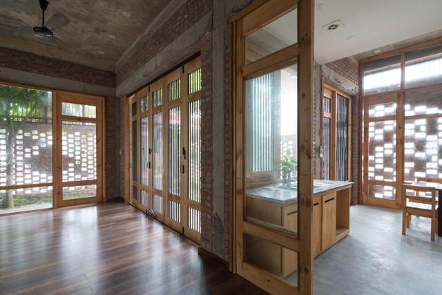 Thiết kế không gian hoàn toàn mở thông thoáng và linh hoạt là ưu tiên khi thiết kế công trình này.