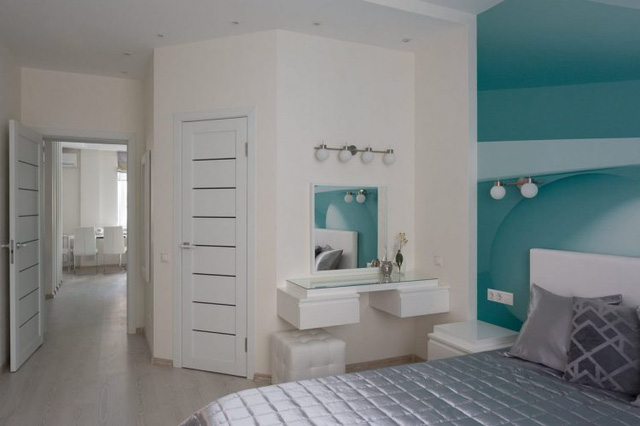 Phòng ngủ được lựa chọn ở vị trí riêng tư, hoàn toàn tách biệt với các không gian còn lại nhằm mang đến sự yên tĩnh tối đa cho người sử dụng.