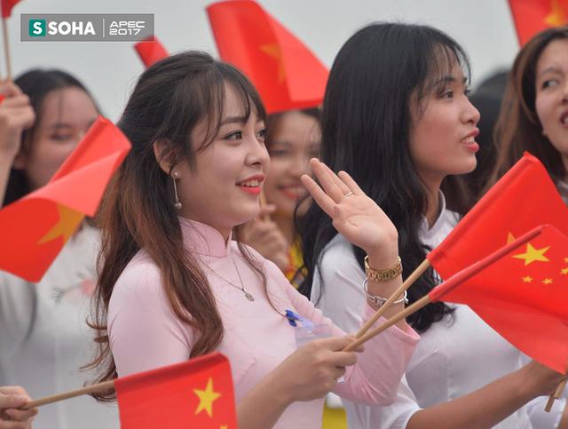 Đoàn xe Chủ tịch Trung Quốc Tập Cận Bình đã về đến khách sạn tại Hà Nội - Ảnh 3.