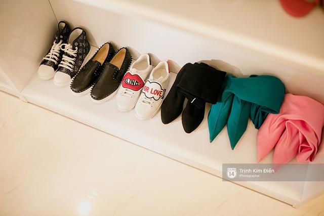 Những món đồ hiệu được Jolie Nguyễn trân trọng và cất giữ kỹ lưỡng tại căn hộ ở Tp.HCM