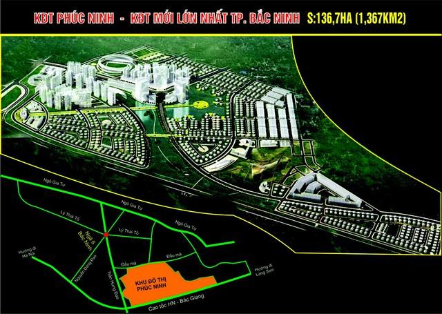 Nhiều dự án nhà đất nhà ở đẳng cấp, tiên tiến đang dần thành hình ở Bắc Ninh
