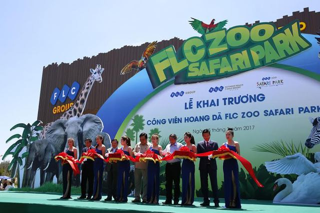 Lễ khai trương Vườn thú FLC Zoo Safari Park.