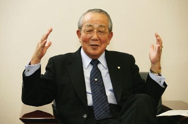 Tỷ phú người Nhật, ông Kazou Inamori.