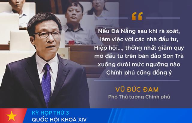 Chất vấn Bộ trưởng Bộ VHTT&DL: Quan điểm của Bộ về du lịch Sơn Trà là phát triển bền vững - Ảnh 1.
