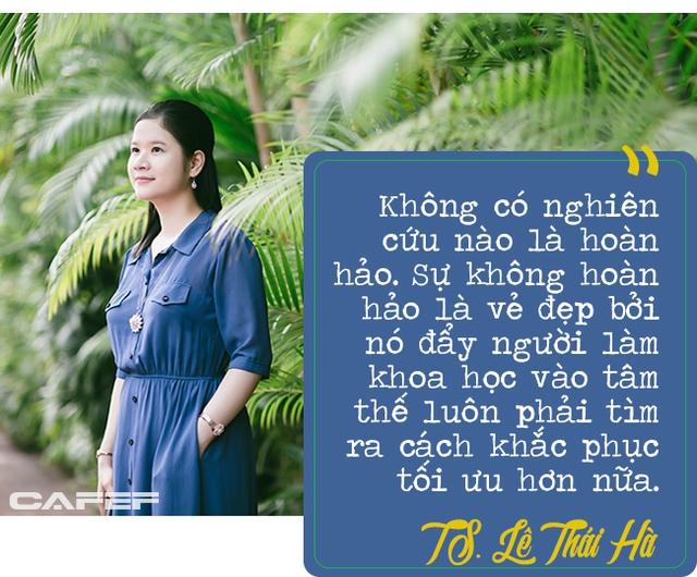 Lê Thái Hà: Nữ giảng viên có thời gian hoàn thành luận án Tiến sĩ ngắn kỷ lục tại Đại học số 1 Singapore - Ảnh 5.