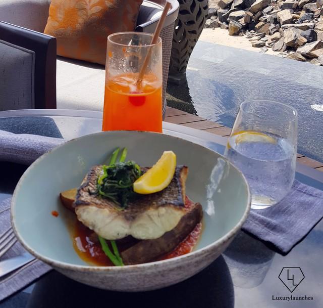 Barracuda với mùi vị thơm ngon của cá nướng mỡ, đánh bật vị giác của chúng ta cùng một lemony hương vị phong phú.