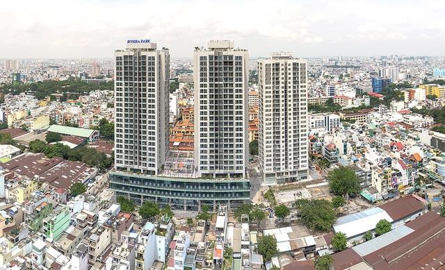Dự án Rivera Park Sài Gòn đã được bàn giao cho khách hàng vào ngày 15/10/2017.