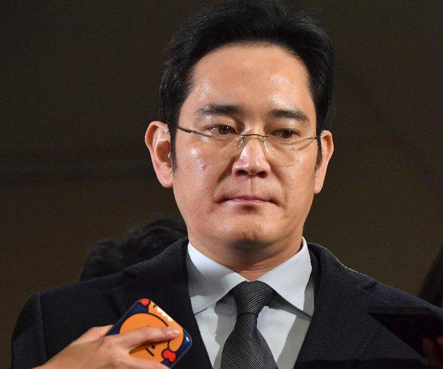 Phó chủ tịch Lee Jae-yong, người nắm quyền điều hành Tập đoàn Samsung thay cha.