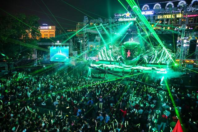 Countdown Party 2018 sẽ được tổ chức tại các địa điểm lớn như Quảng trường Đông Kinh Nghĩa Thục với sự tham gia của dàn ca sĩ, DJ đẳng cấp. (Ảnh minh họa)