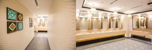 Nhà vệ sinh của công trình.