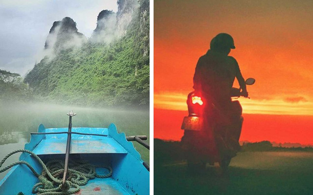 Trong điện thoại của ông có không ít hình ảnh tuyệt đẹp về Việt Nam. Đó là những khung cảnh mà bạn phải trả tiền để tạo thêm hiệu ứng. Còn ở đây hoàn toàn là cảnh đẹp tự nhiên.