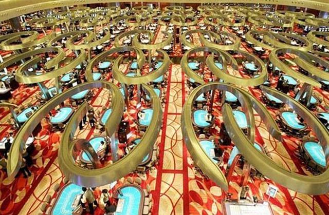 Casino của khu phức hợp rộng hơn 15.000m2