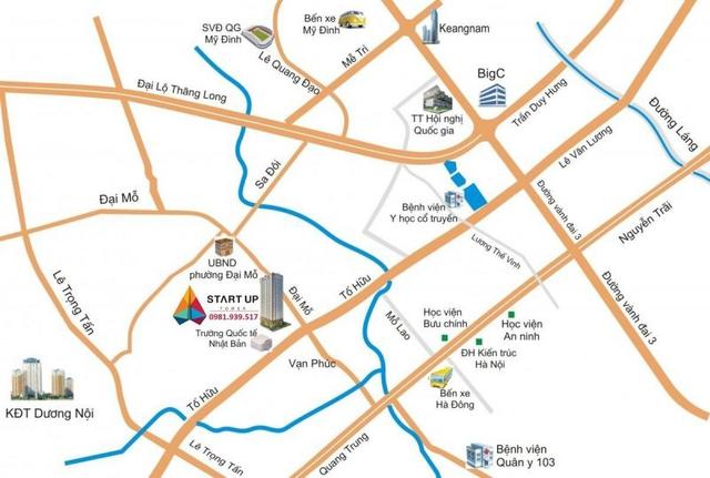 Dự án tọa lạc tại quận Nam Từ Liêm.