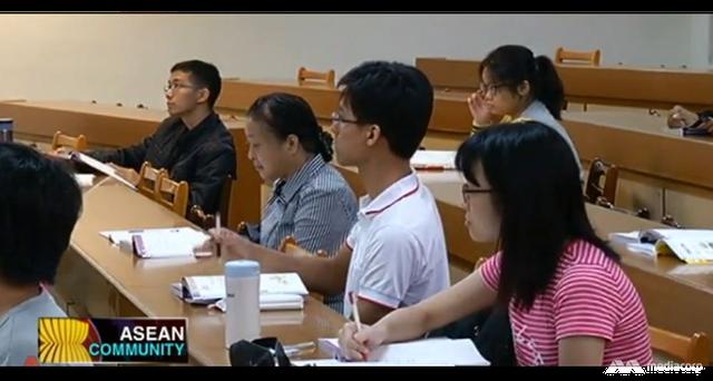 Sinh viên học tiếng Việt ở Đài Loan, Trung Quốc.