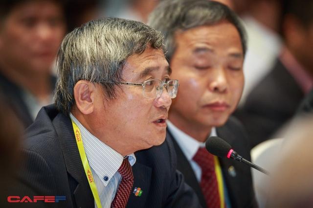 Bùi Quang Ngọc, TGĐ Tập đoàn FPT phát biểu tại Diễn đàn (Ảnh: Thành Đạt)