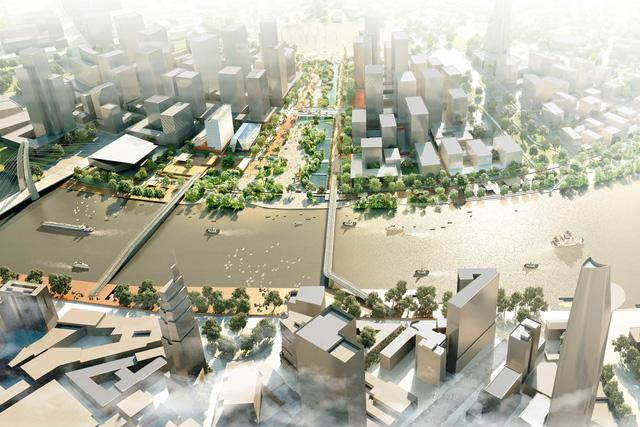 Theo đơn vị tư vấn, quảng trường phải là nơi tiếp nhận những không gian hiện đại, mang tính biểu tượng cao và thể hiện quyết tâm của chính quyền trong việc bảo lưu, bảo vệ chất lượng môi trường ngay trong lòng trung tâm thành phố.