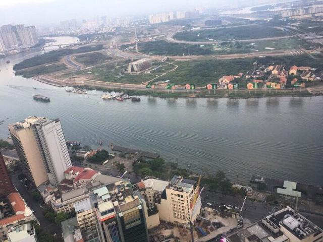 Giá trị đất dọc hai bên sông Sài Gòn ở khu trung tâm cũng ngày càng tăng lên, thuộc top đắt nhất cả nước.