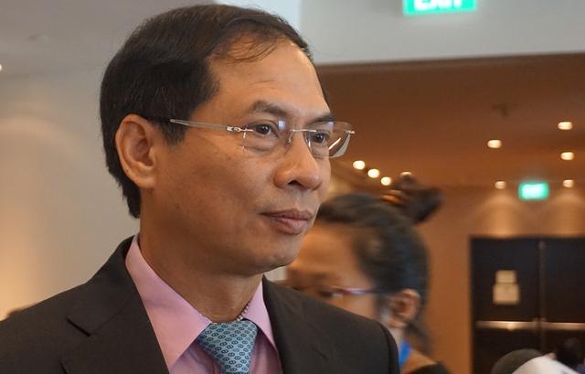 Thứ trưởng Thường trực Bộ Ngoại giao Việt Nam, Chủ tịch SOM APEC Bùi Thanh Sơn. Ảnh: Linh Anh