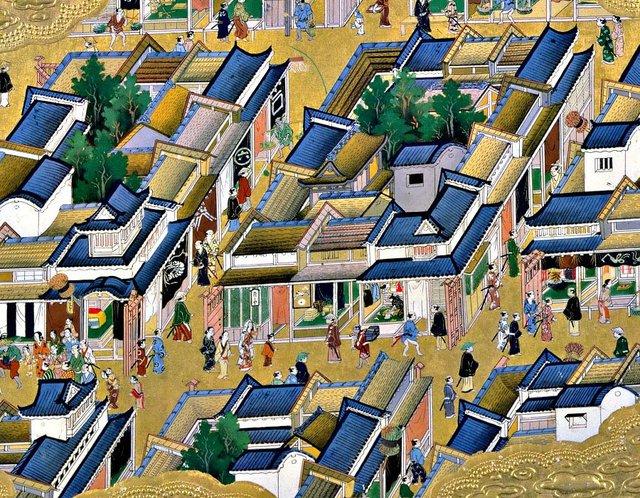 Mãi tới những năm 1630, dân số Edo mới chỉ có 150.000 người.