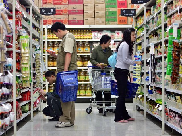 Do khách hàng Trung Quốc không muốn mua quá nhiều nên hàng hóa được chia ra túi nhỏ để phục vụ nhu cầu.