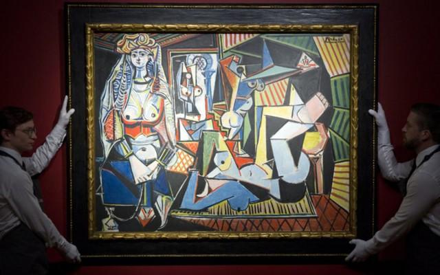 Trong một phiên đấu giá năm 2015, bức tranh Người phụ nữ Alger của danh họa Picasso đã được một đại gia bí ẩn mua.
