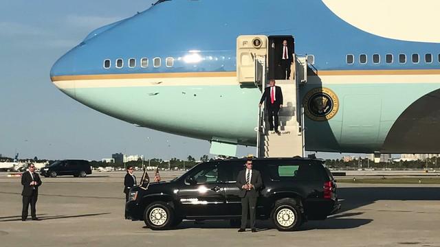 Tổng thống Donald Trump đến Palm Beach vào cuối tuần thứ 3 liên tiếp.