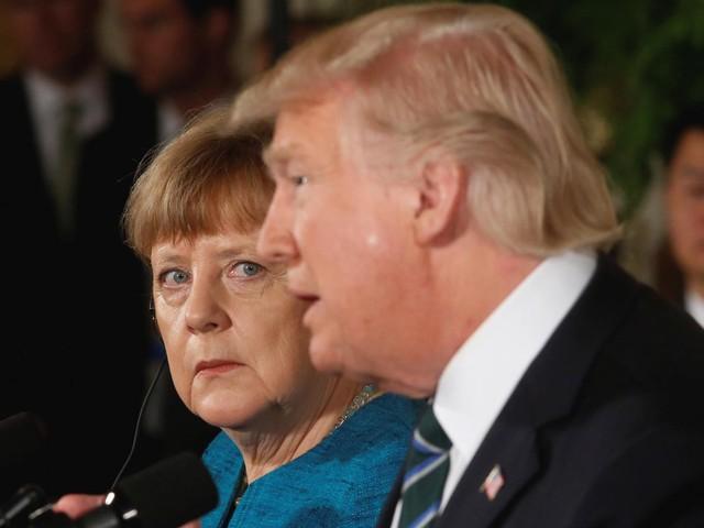 Bà Merkel gặp ông Trump lần đầu tiên tại Nhà Trắng hồi tháng trước.