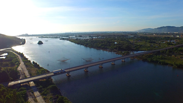 Dự án nằm bên cạnh sông Thuỷ Tú.