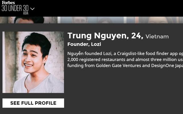 Với ý tưởng xây dựng một ứng dụng công nghệ chia sẻ về ẩm thực và địa điểm ăn uống, Nguyễn Hoàng Trung bắt tay vào thực hiện dự án Lozi từ năm 2012