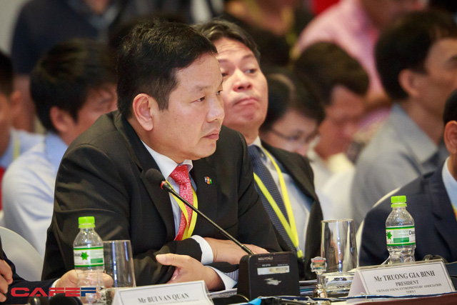 Ông Trương Gia Bình – Chủ tịch FPT (Ảnh: Thành Đạt)