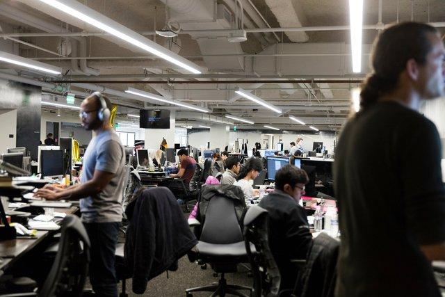 Trụ sở của Uber ở San Francisco, Mỹ. Ảnh: NY Times