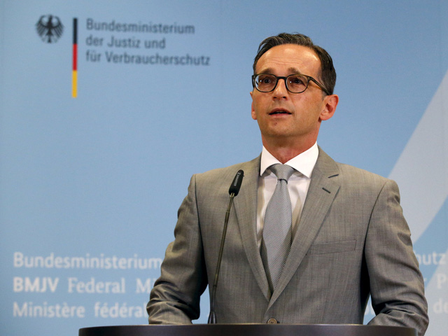 Bộ trưởng Tư pháp Đức Heiko Mass.